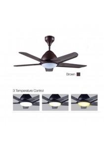 """ALPHA AF20LED5B/42 Ceiling Fan Remote with LED Light 5 Blades 42"""" (Black)"""
