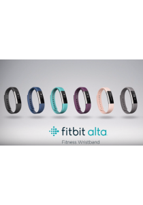 Fitbit Alta Fitness Tracker Wristband Watch (Small)