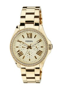 Fossil Women's AM4482 Cecile Multifunction Stainless Steel Watch (Gold-Tone)