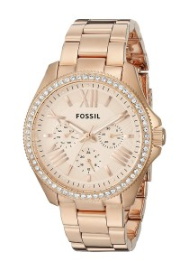 Fossil Women's AM4483 Cecile Watch (Rose Gold-Tone)
