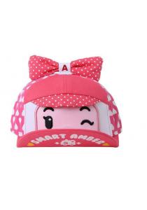 Robocar Amber Cap - Pink