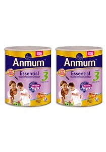 2 units Anmum Essential Step 3 (1 years old+) 1.6kg  (Honey)