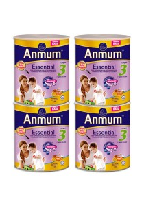 4 units Anmum Essential Step 3 (1 years old+) 1.6kg  (Honey)