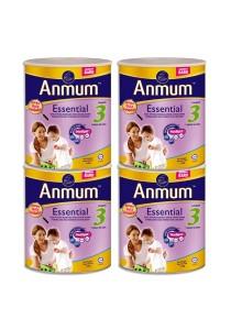 4 units Anmum Essential Step 3 (1 years old+) 1.6kg (Original)