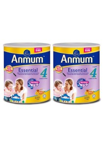 2 units Anmum Essential Step 4 (3 years old+) 1.6kg  (Honey)