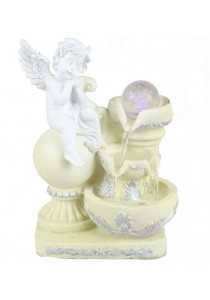 Angel Water Fountain Lx13220 Table Top Water Feature Decoration
