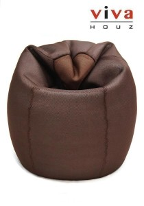 Angie 3D Mesh Bean Bag - Brown