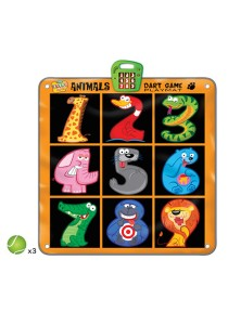 Zippy Mat Animals Dart Game Playmat