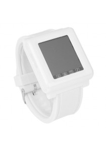 AOKE AK912 Touch Screen Watch Phone with Spy Camera White