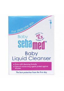 SEBAMED Baby Liq. Cleanser 1l Free 200Ml