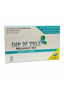 Economy Pack: Dip N Tell Pregnancy Test 2s X 5