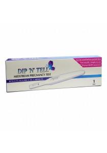 Economy Pack: Dip N Tell Midstream Pregnancy Test 1s x 5