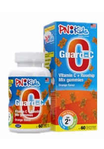 PNKIDS Guard C Orange Flavored Mix Gummies 60s