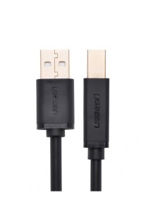UGREEN 10352 5M USB 2.0 AM To BM Print Cable Gold-Plated US135 (Black)