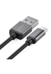 UGREEN Micro USB Male To USB A Male Cable 1-Meter US134 - 10824 (Black)