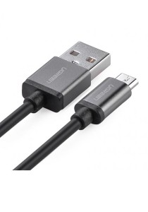 UGREEN Micro USB Male To USB A Male Cable 2-Meter US134 - 10826 (Black)