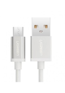 UGREEN Micro USB Male To USB A Male Cable 3-Meter US134 - 10832 (White)