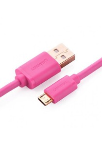 UGREEN Micro-USB Male To USB Male Cable Gold-Plated 3M US125 - 10861 (Pink)