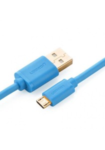 UGREEN Micro-USB Male To USB Male Cable Gold-Plated 1M US125 - 10870 (Blue)