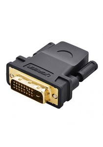 UGREEN DVI24 + 1 Male To HDMI Female Adapter - 20124