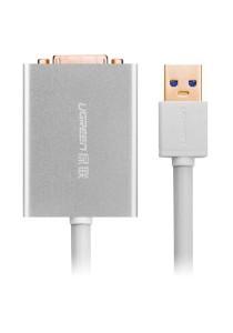 UGREEN 40243 80cm USB 3.0 To DVI Converter (Silver)