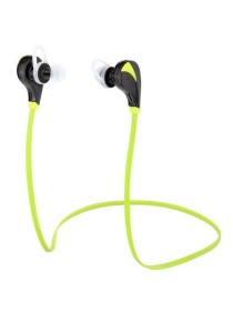 Arche Wireless Earphone Bluetooth 4.0 Sport Headsets Sweat Proof Earbud (Green)