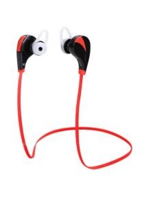 Arche Wireless Earphone Bluetooth 4.0 Sport Headsets Sweat Proof Earbud (Red)
