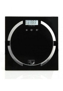 Arche Body Fat BMI Digital High Precision Scale w/ Tempered Glass Platform (Weight, Body Fat, & BMI)