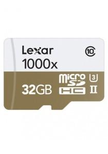 Lexar 32GB Professional 1000x microSDHC UHS-II Memory Card