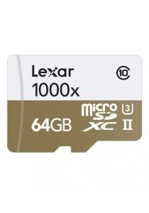 Lexar 64GB Professional 1000x microSDHC UHS-II Memory Card