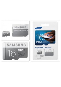[Geniune] Samsung PRO 16GB MicroSDHC class10 90MB/s Memory Card UHS-I with Adaptor MB-MG16DA