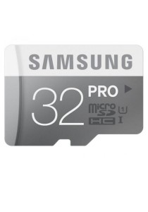 Samsung PRO 32GB 90MB/s MicroSDHC Class10 U1 UHS I Memory Card with Adapter
