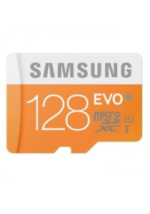 Samsung 128GB EVO Class 10 Micro SDXC 48MB/s Memory Card with Adapter MB-MP128DA