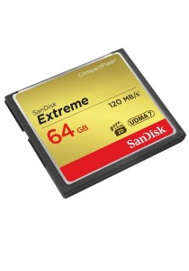 SanDisk Extreme 64GB 120MB/s Compact Flash Memory Card