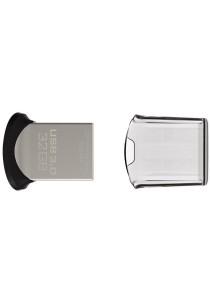 SanDisk Ultra Fit 32GB 150MB/s USB 3.0 Flash Drive Plug & Stay Black with Cap