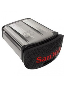 SanDisk Ultra Fit 64GB 150MB/s USB 3.0 Flash Drive Plug & Stay Black with Cap