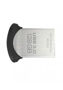 SanDisk Ultra Fit 128GB 150MB/s USB 3.0 Flash Drive Plug & Stay Black with Cap