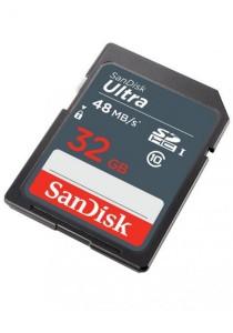 SanDisk Ultra 32GB 48MB/s C10 SDHC UHS-I Memory Card