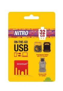 Strontium Nitro 32GB On-The-Go (OTG) USB 2.0 Flash Drive