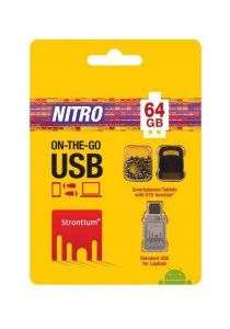Strontium Nitro 64GB On-The-Go (OTG) USB 2.0 Flash Drive