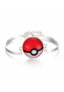 Arche Pokemon Go Charm Necklace Fashion Pokeball Gift Bracelet