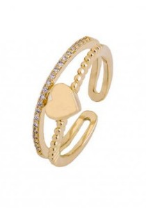 Arche Angelic Love Adjustable Ring (Gold)