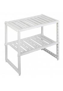 ASOTV Extendable Under Sink Rack (White)