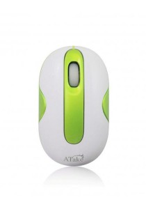 Atake 3D Optical Mouse USB Fancy Pebble (Green)