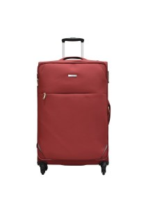 "Airways Ultra Lightweight Expandable Soft Case 24"" Luggage - ATS5915 (Red)"