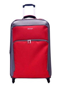 "Airways ATS5912 28"" 4 Wheels Spinner Softcase Luggage (Red)"
