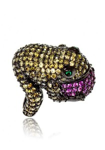 Autumn Frog Ring