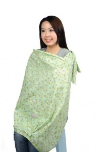 Autumnz Posh Nursing Cover Dew Mint
