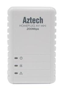 Aztech HL113EW + HL113E Homeplug AV 200Mbps Ethernet Adaptor With Wireless N 150Mbps (STARTER KIT)