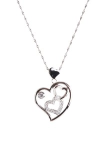 Gordonmax Double Heart Pendant B10651